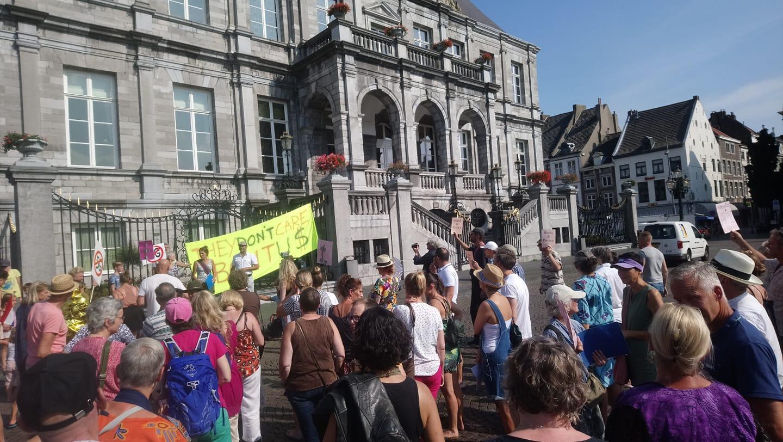 5G protest Maastricht