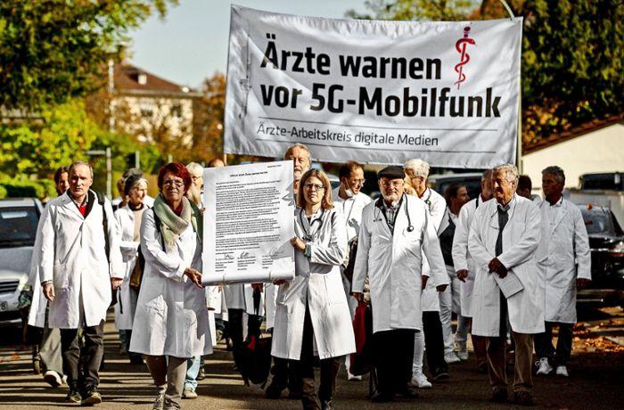 Duitse artsen protesteren tegen 5G